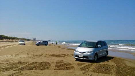 Nagisa_driveway