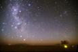 エアーズロックと南天の星々
