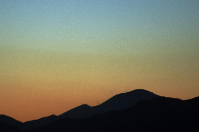 2013/03/10のパンスターズ彗星