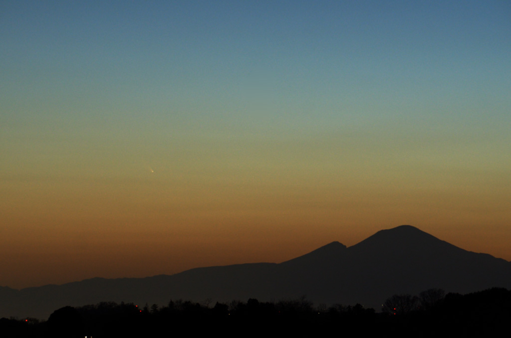 2013/03/11のパンスターズ彗星