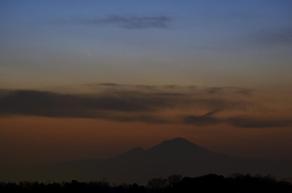 2013/03/12のパンスターズ彗星