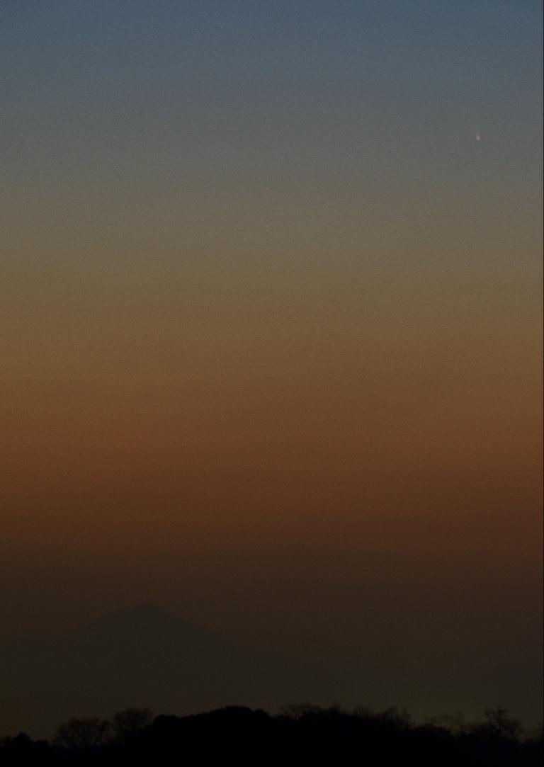 2013/03/15のパンスターズ彗星