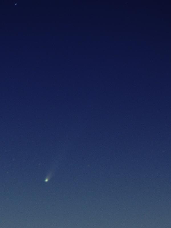 11/23のアイソン彗星 その2