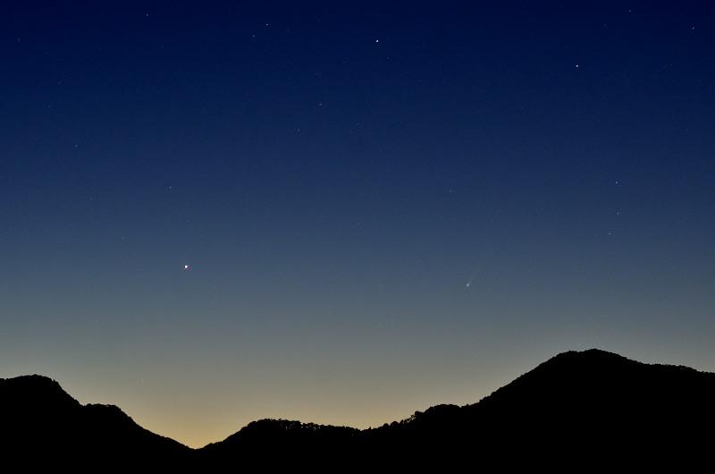 11/23のアイソン彗星 その1