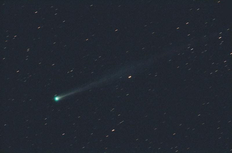 11/17のアイソン彗星