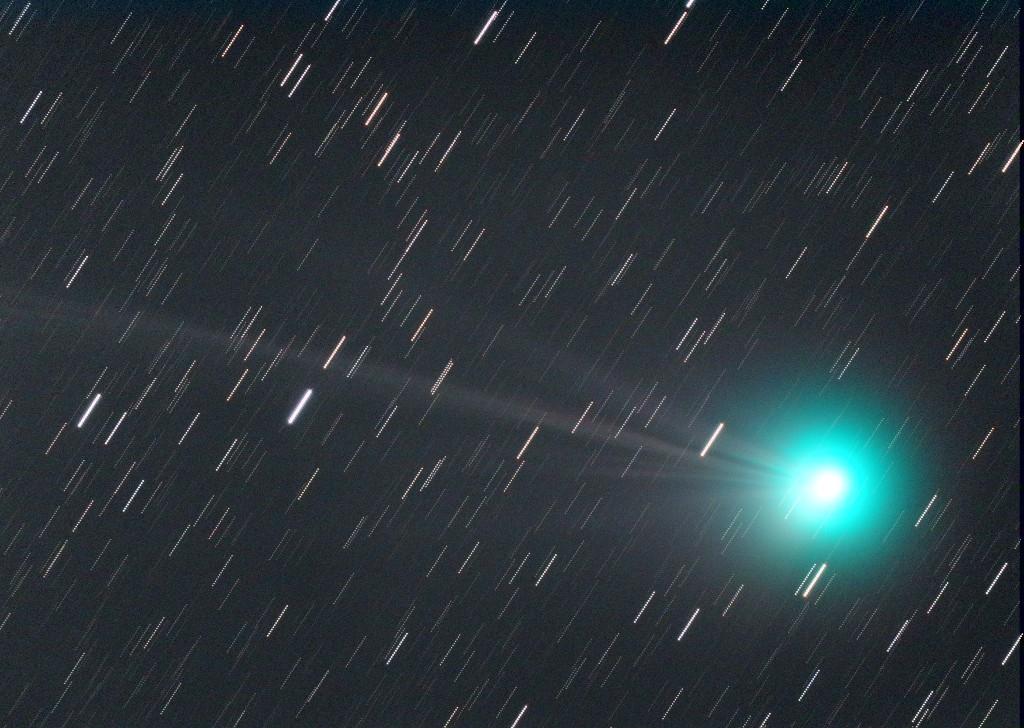 2015/01/10のラブジョイ彗星(LRGB)