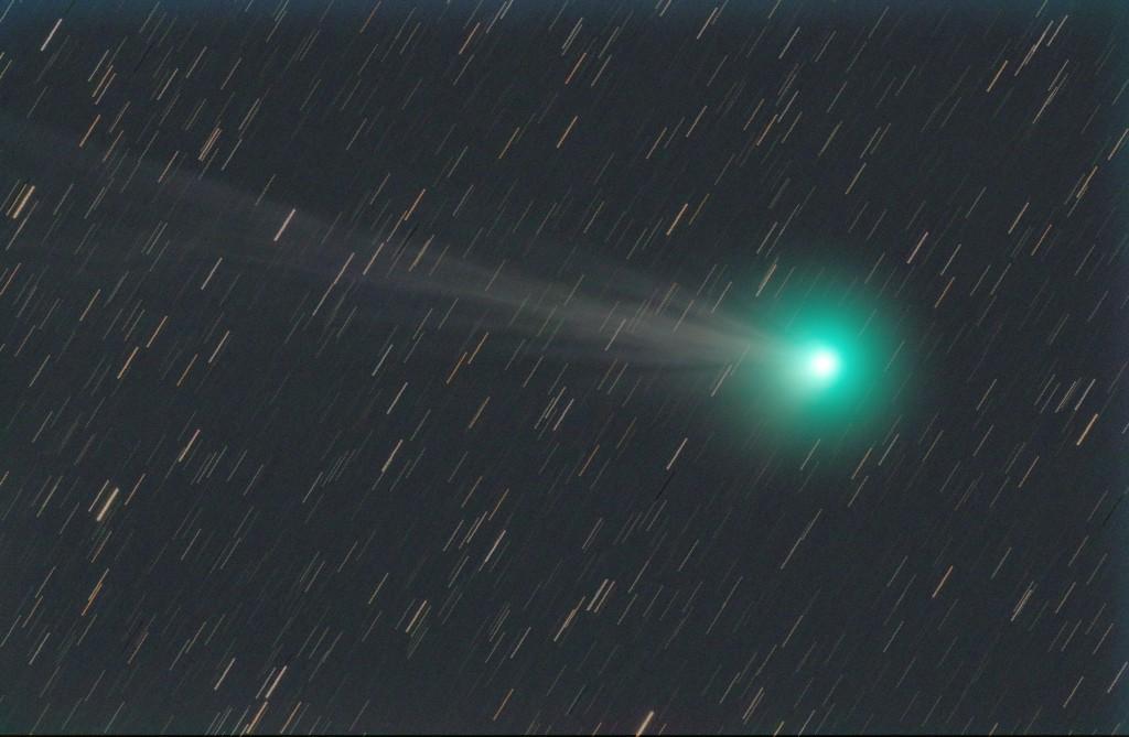 2015/01/13のラブジョイ彗星(FSQ-106+KissX6i)