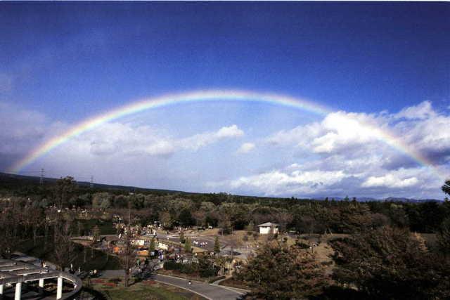 群馬県民の日の虹