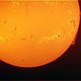 2014/08/04の太陽(Hα・ダブルスタック DMK-31)